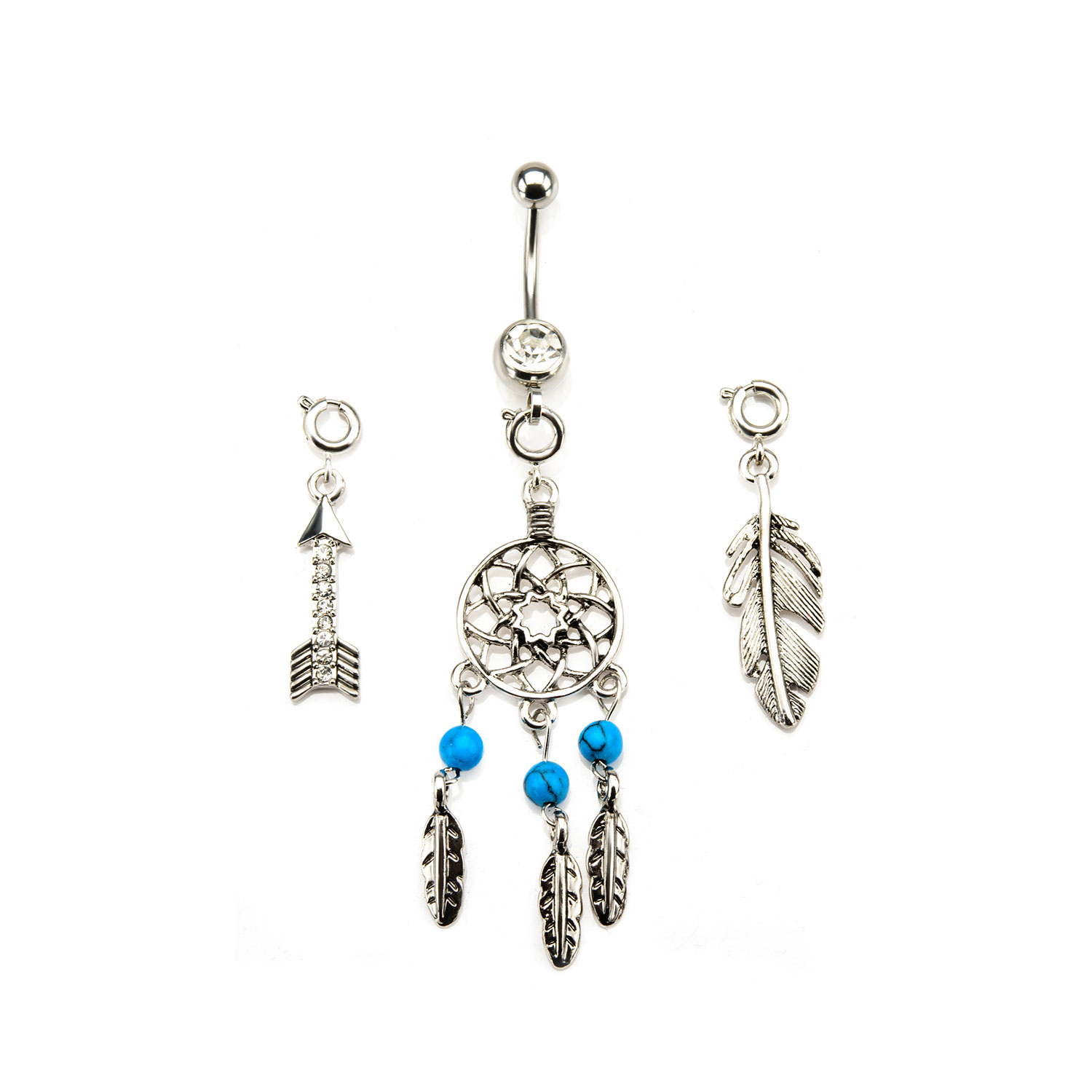 interchangeable qvc sterling earrings barbara blue bixby product com topaz